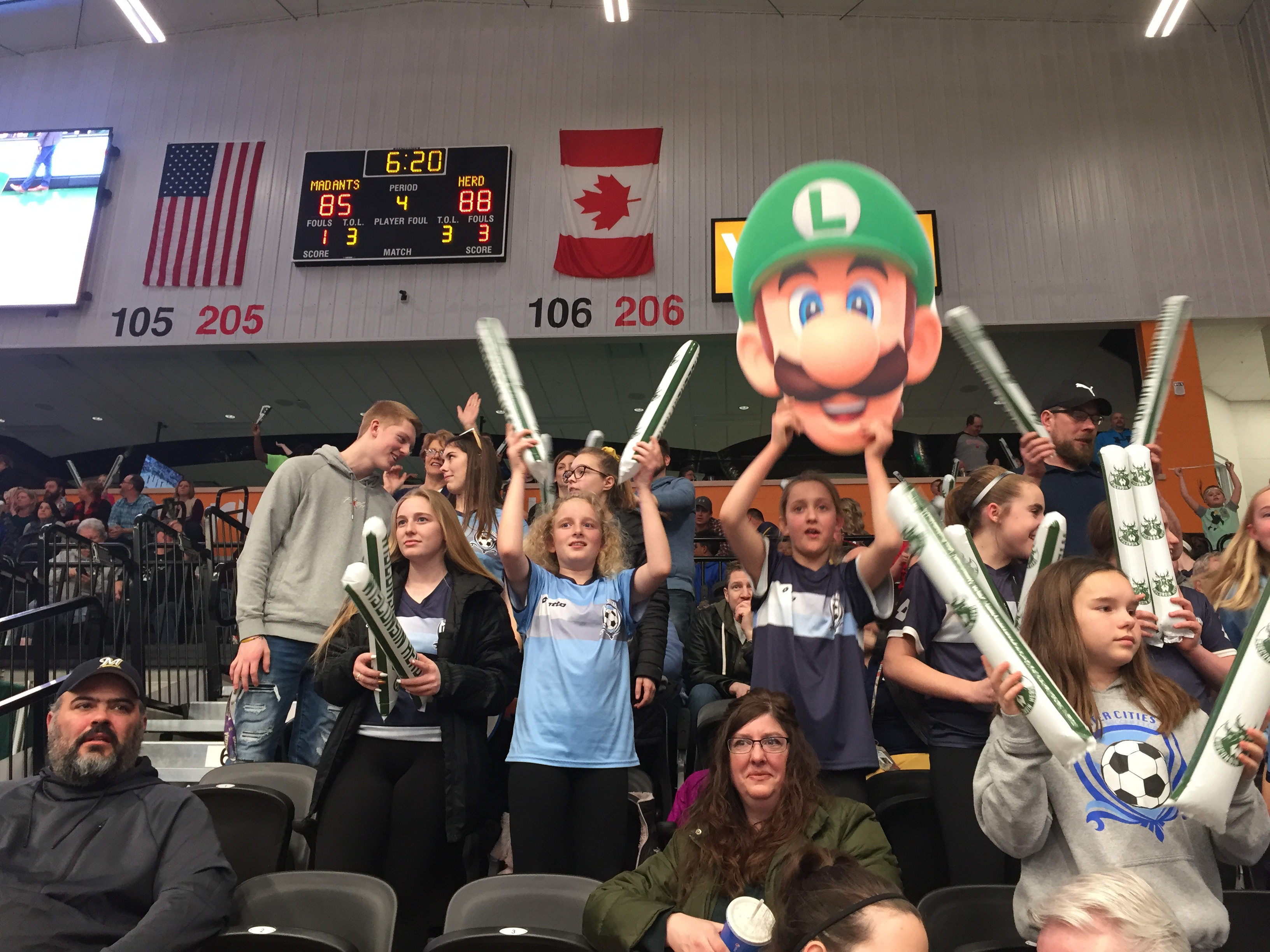 WATER CITIES SOCCER CLUB AT WISCONSIN HERD